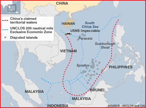 China's Claim to the South China Sea